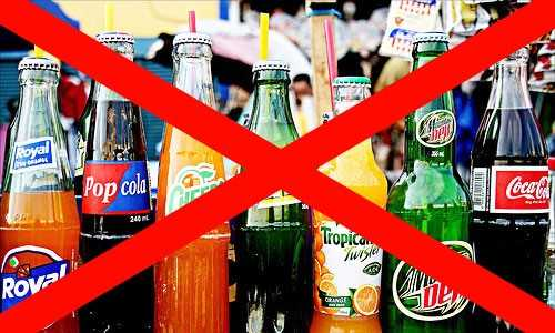 Loss of drinking cold drinks